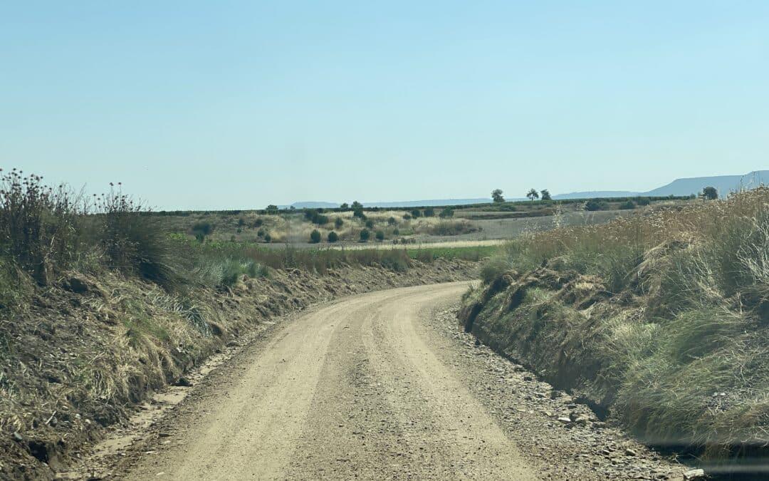 Cigales arregla siete caminos rurales de su término Municipal