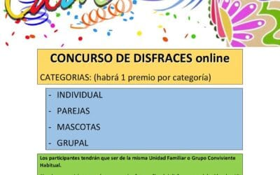Concurso de disfraces Online de Carnaval en Cigales