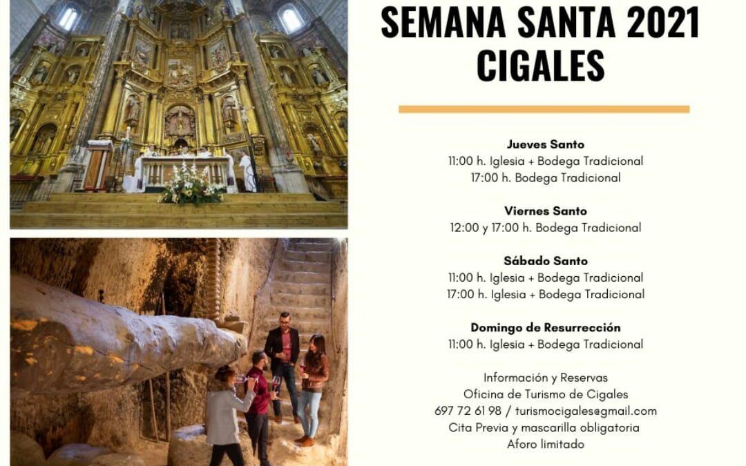 Visitas Guiadas Semana Santa 2021 en Cigales
