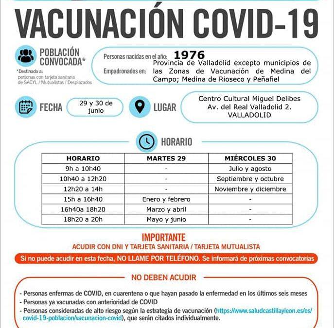 Vacunación covid19 nacidos 1976