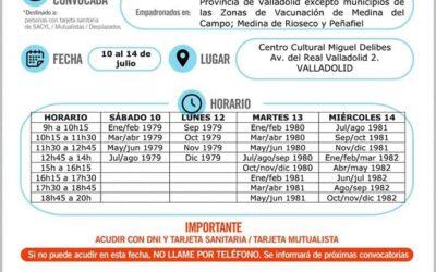 Vacunación covid19 nacidos años 1979 a 1982